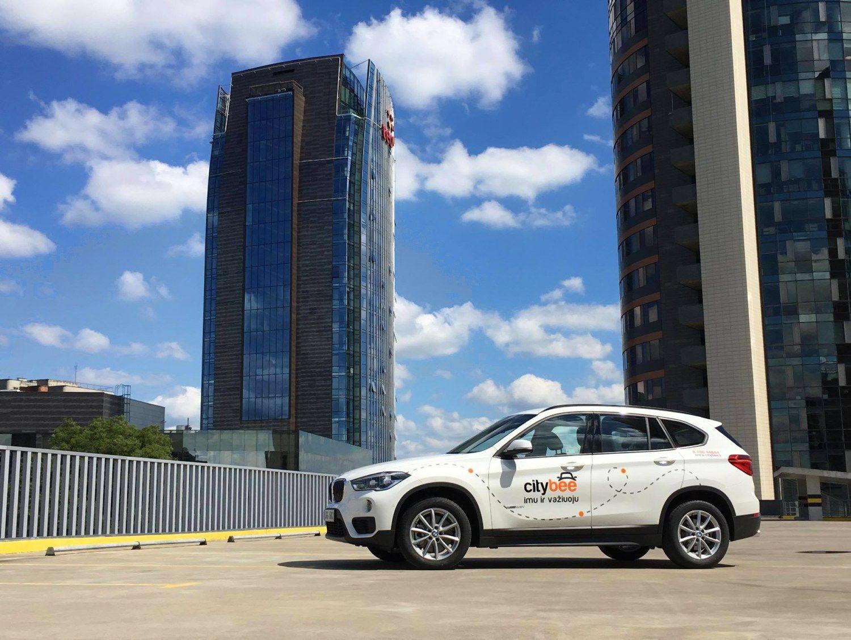 �City Bee� park� papild� BMW visureigiai