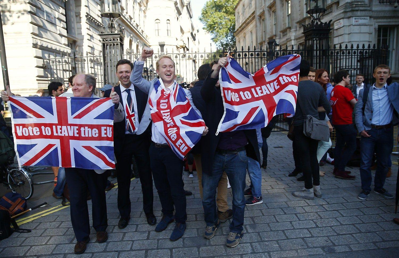 Britanijos pasitraukimas: ne anksčiau kaip 2020 m.