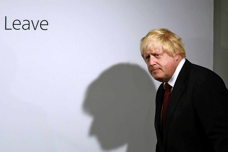 Did�ioji Tori� intriga: Johnsonas ar bet kas, tik ne jis