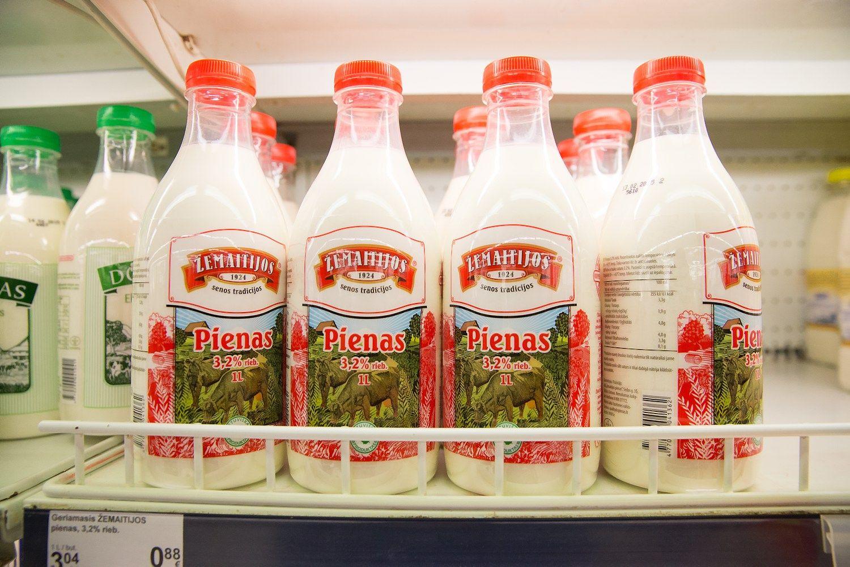 ��emaitijos pienas� supirks dal� savo akcij�