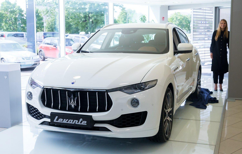 Pristatytas naujasis �Maserati Levante� visureigis