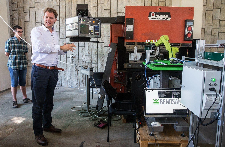 �Blue Ocean Robotics� siekia pritraukti 1 mln. Eur robot� gamybai