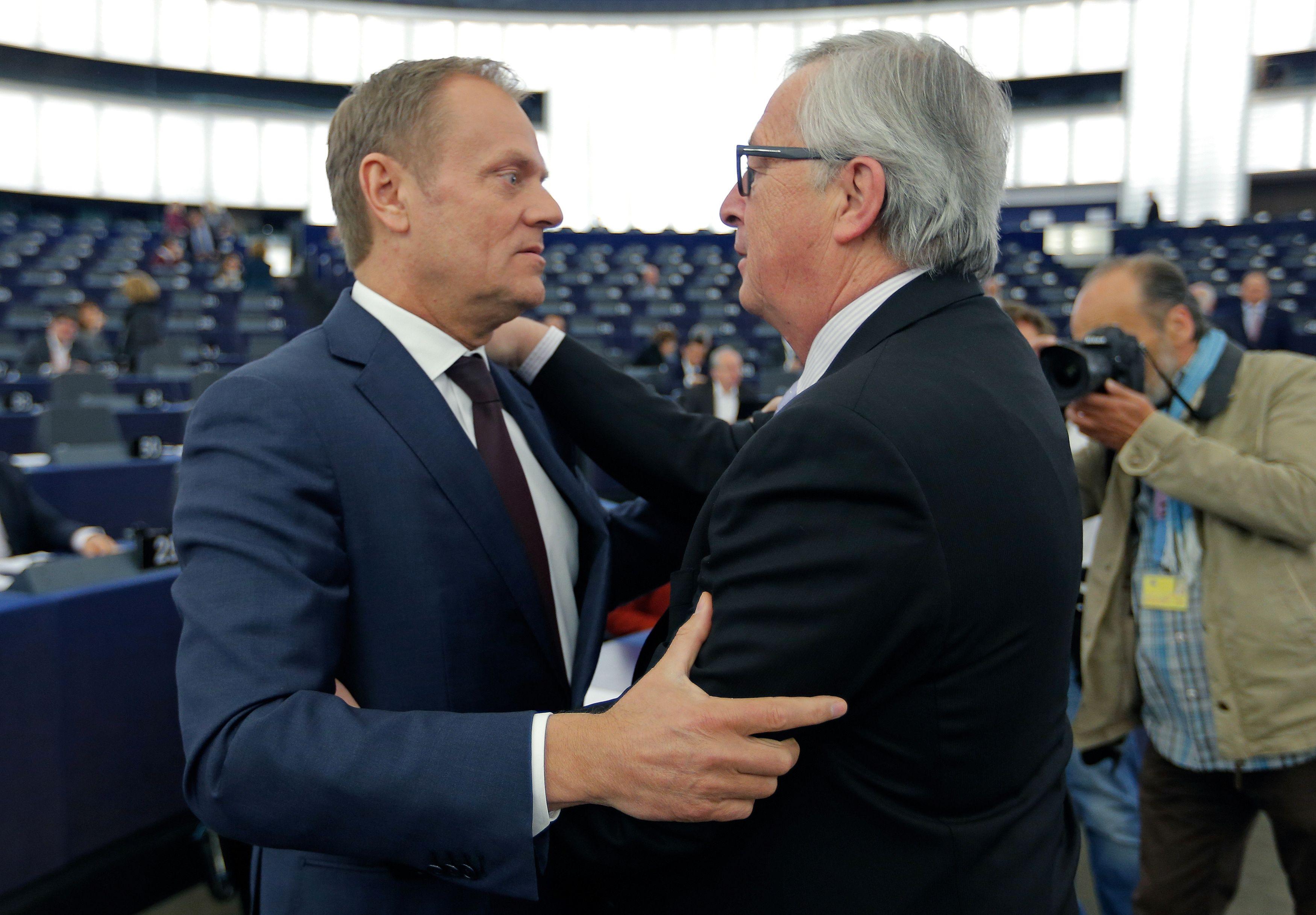 ES lyderiai �sp�ja:�i� Bendrijos besitraukiantys britai privilegij� nesulauks