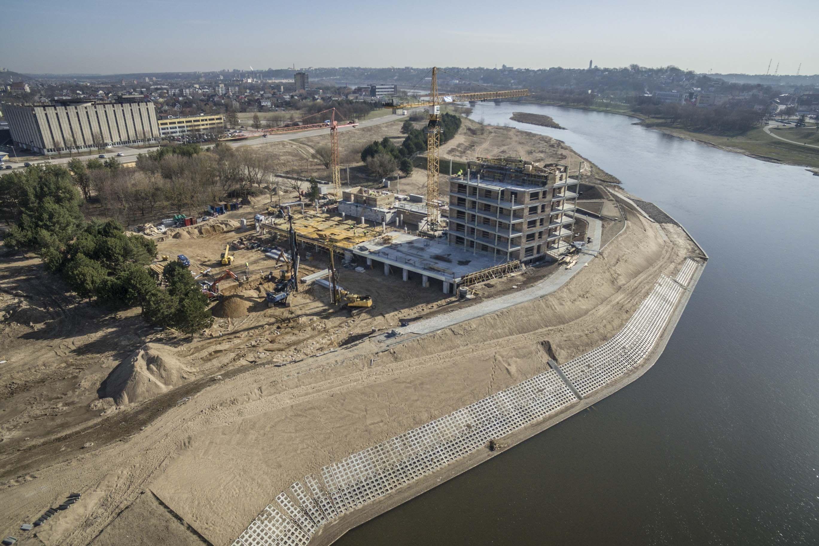 Kaune pajudėjo statybos: nuo prekybos centrų iki daugiabučių kvartalų