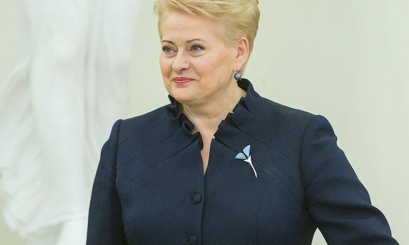 Dalia Grybauskaitė, Lietuvos Prezidentė. Juditos Grigelytės (VŽ) nuotr.