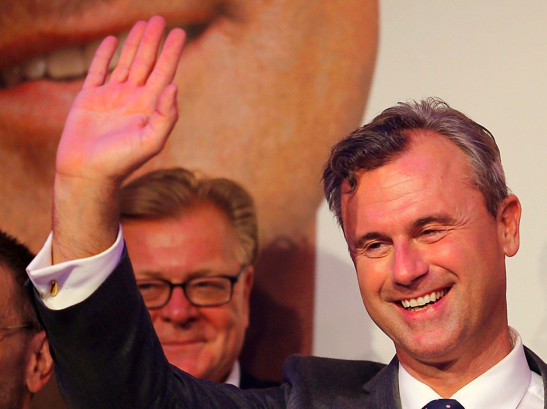 Teismas at�auk� Austrijos prezidento rinkim� rezultatus