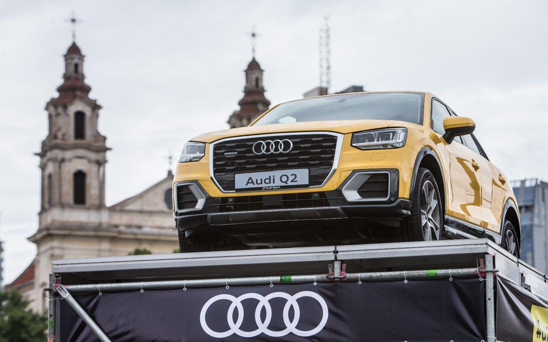 """Lietuvoje pristatyti naujieji """"Audi"""" modeliai"""