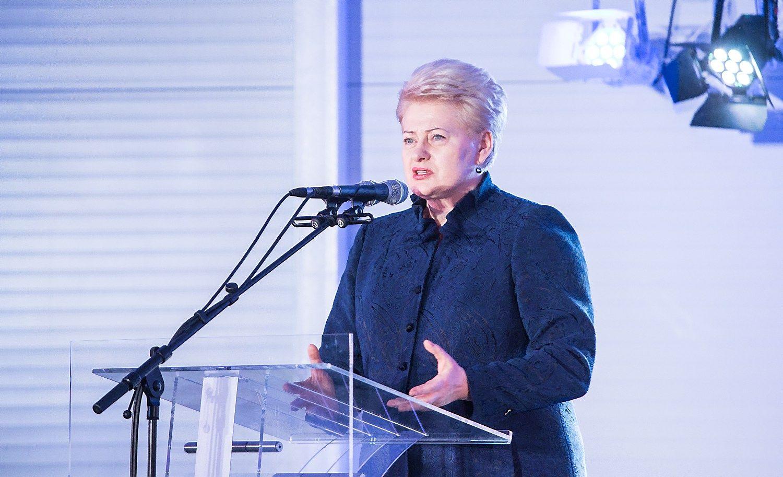 Grybauskaitė paragino Vokietiją imtis karinės lyderės vaidmens