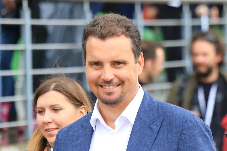 Abromavičius: gerai, kad stambūs Lietuvos verslininkai neina į politiką