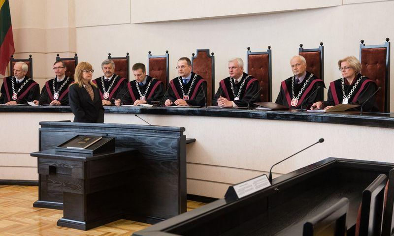 Lietuvos Respublikos Konstitucinis Teismas.  Juditos Grigelytės (VŽ) nuotr.