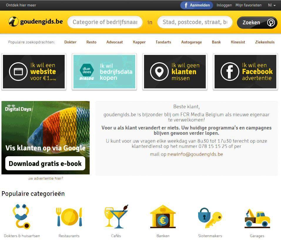 """""""FCR Media Group"""" įsigijo didžiausią Belgijos skelbimų portalų bendrovę"""