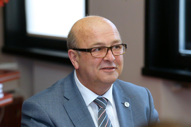 Kauno meras po mėnesio nedarbingumo sugrįžo į darbą