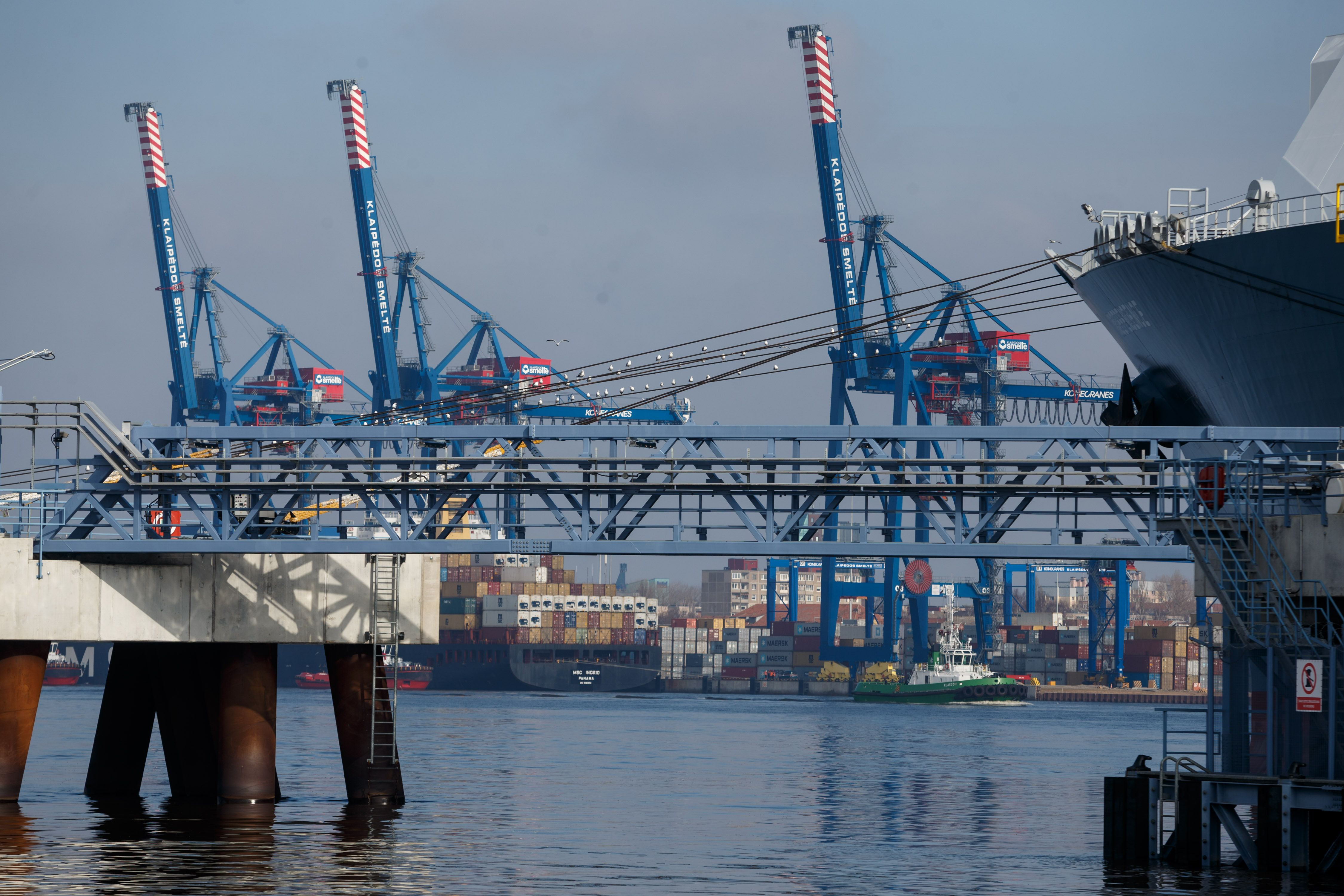 Klaipėdos uostas rado krovos rekordo raktą