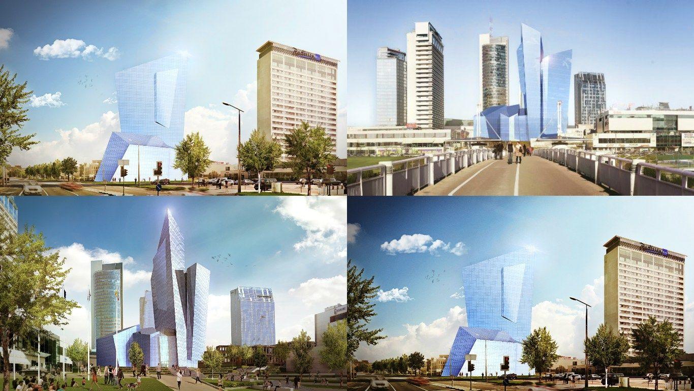Libeskindas pradeda projektuoti kompleksą prie Baltojo tilto