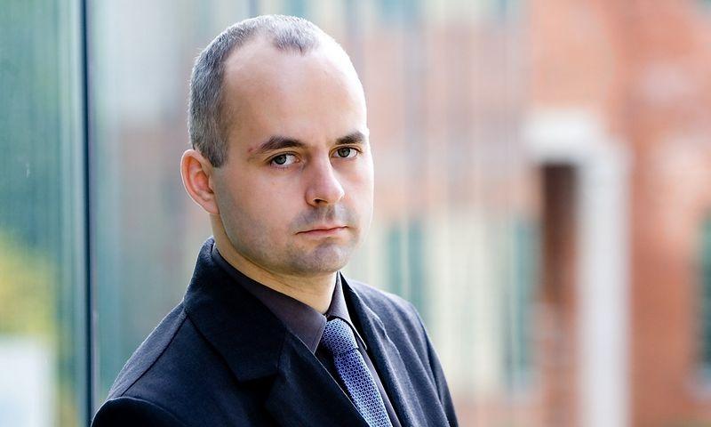 """Kostas Noreika, UAB """"Paysera LT"""" direktorius. Juditos Grigelytės (VŽ) nuotr."""