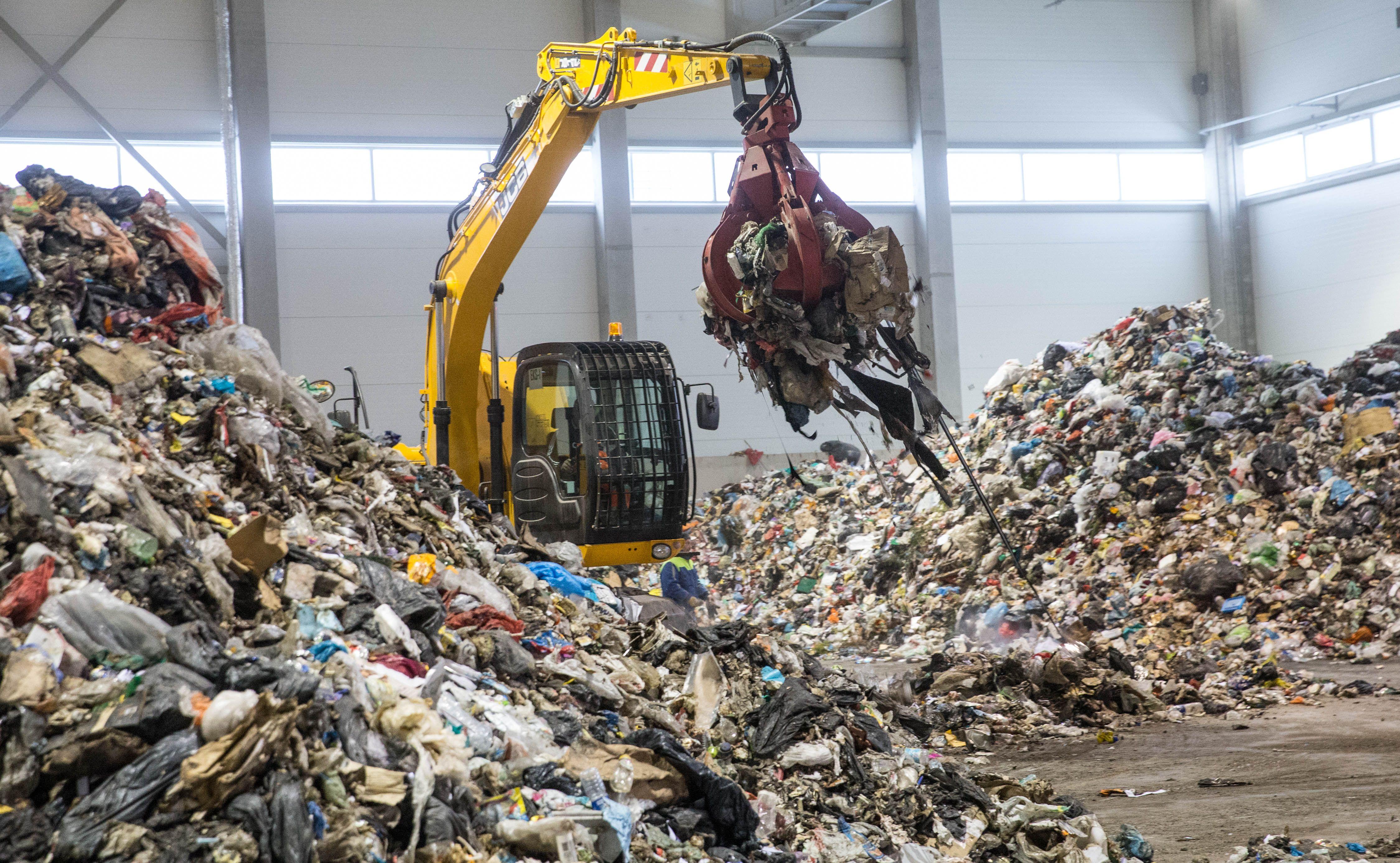 Atliekų rūšiavimo gamyklos be operatorių – gali tekti grąžinti ES lėšas