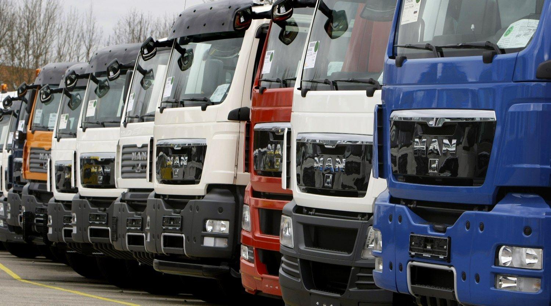 Sunkvežimių gamintojams – didžiausia bauda ES istorijoje