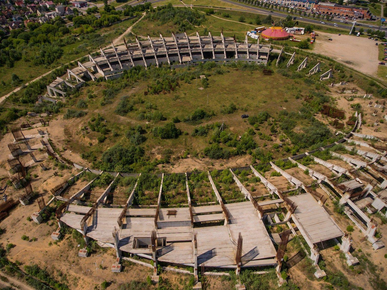 Optimistinis Nacionalinio stadiono projekto scenarijus � konkurs� paskelbs rugpj�t�