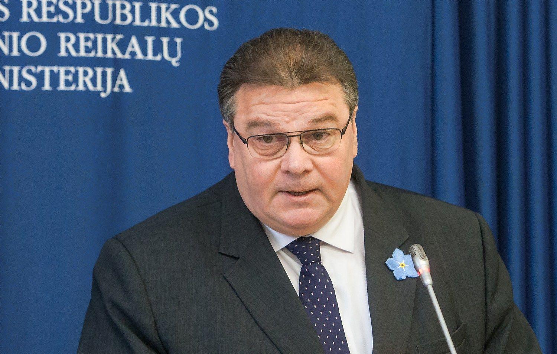 Ministras Linkevičius: kompromisas – neišvengiamas