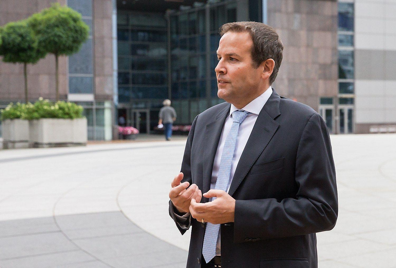 """Mike'as Collini, """"Hilton Worldwide"""" plėtros vadovas Turkijai, Rusijai ir Rytų Europai. Juditos Grigelytės (VŽ) nuotr."""