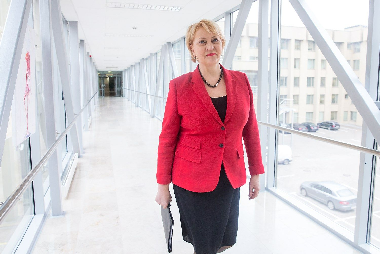 Naujoji finansų ministrė: lengvatos kainuotų šimtus milijonų