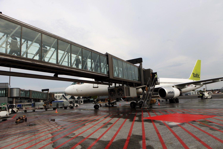 Rygos oro uostas u��m� 45% Baltijos �ali�skryd�i�rinkos