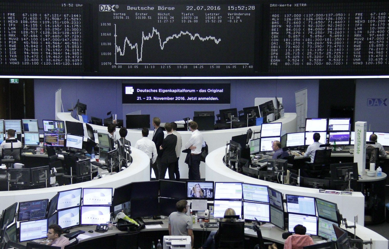 �Klaip�dos naftos� akcijos per dien� pabrango 9,18%