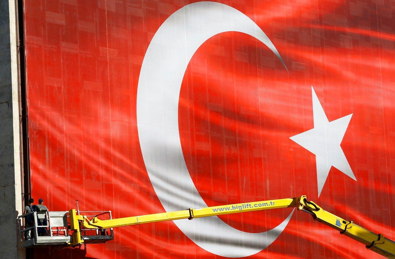 Turkija raminti Vakarų neskuba