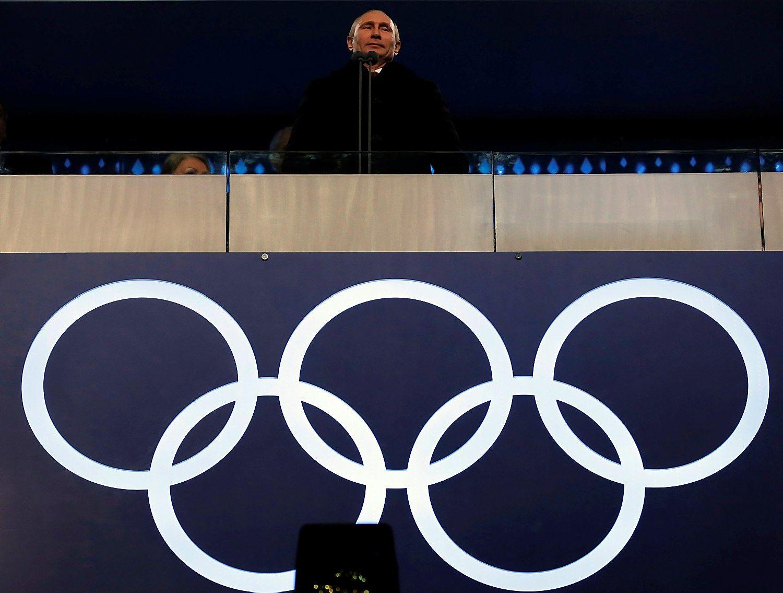 Rusija nepa�alinta i� Olimpini� �aidyni�