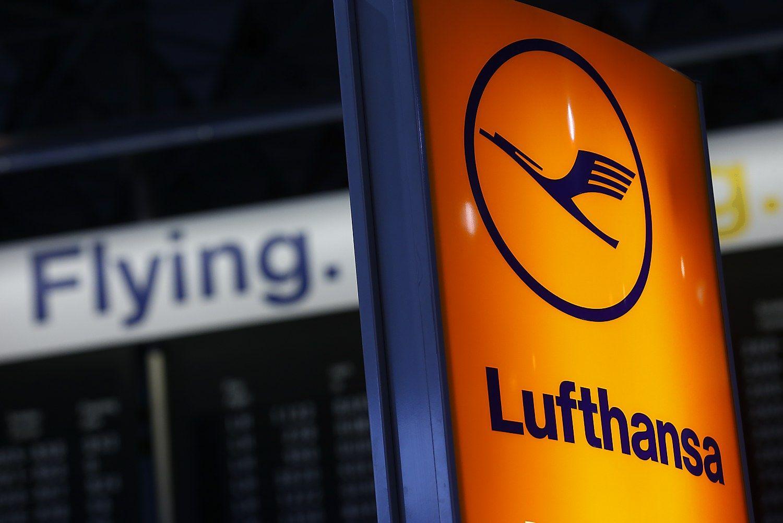 �Lufthansa� savo l�ktuv� pavert� laboratorija ore