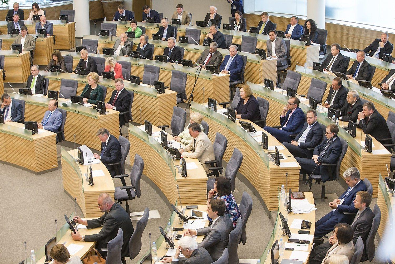 Kurios partijos Seimo nariams�pra�j� metai buvo dosniausi
