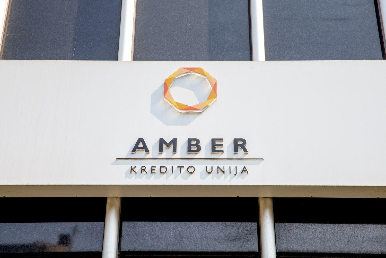 Laikinai sustabdyta kredito unijos �Amber� veikla