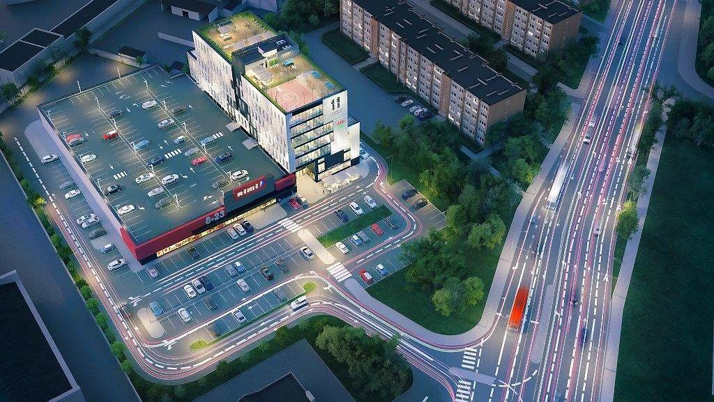 Vilniaus �iaur�s miestelyje � naujas biur� pastatas