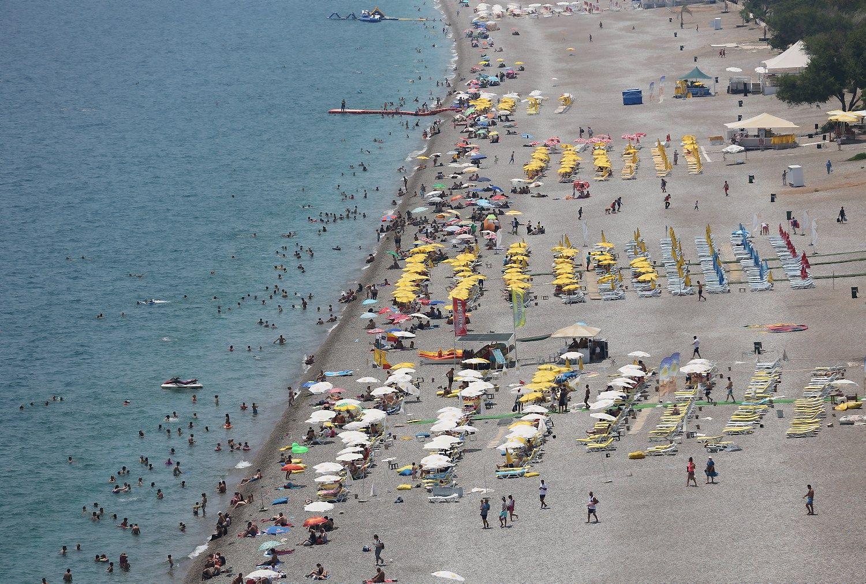 Turkijoje turistų skaičius nudardėjo žemumon