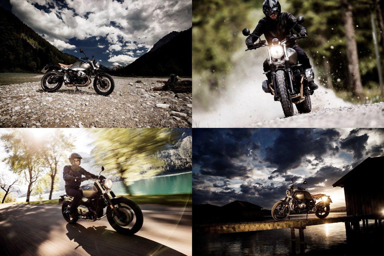 BMW motocikl� gam� papild� retro stiliaus modeliu