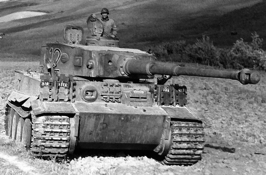 Hitlerio supertankas � �Tiger�