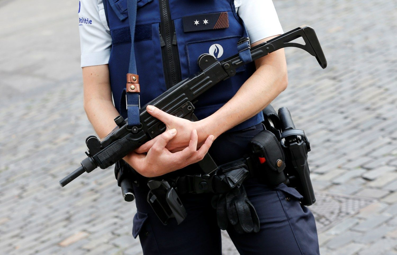Belgijos policija�u�kirto keli� teroro i�puoliui