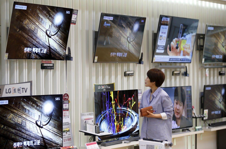 LG rezultatai: �mon� tempia buitin� technika, kondicionieriai ir televizoriai