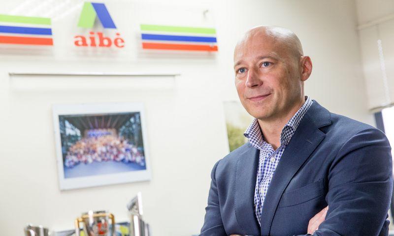 """Artūras Zabielskas, UAB """"Aljansas Aibė"""" Pirkimų departamento direktorius: """"Keičiantis situacijai rinkoje, visi turi pasistengti, kad pardavimas nemažėtų."""" Juditos Grigelytės (VŽ) nuotr."""