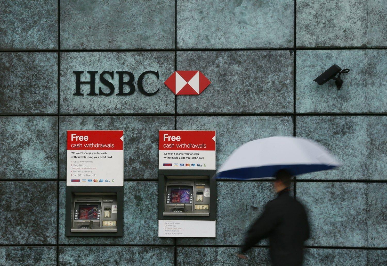 HSBC po nuviliančių rezultatųsupirks akcijų už 2,5 mlrd. USD