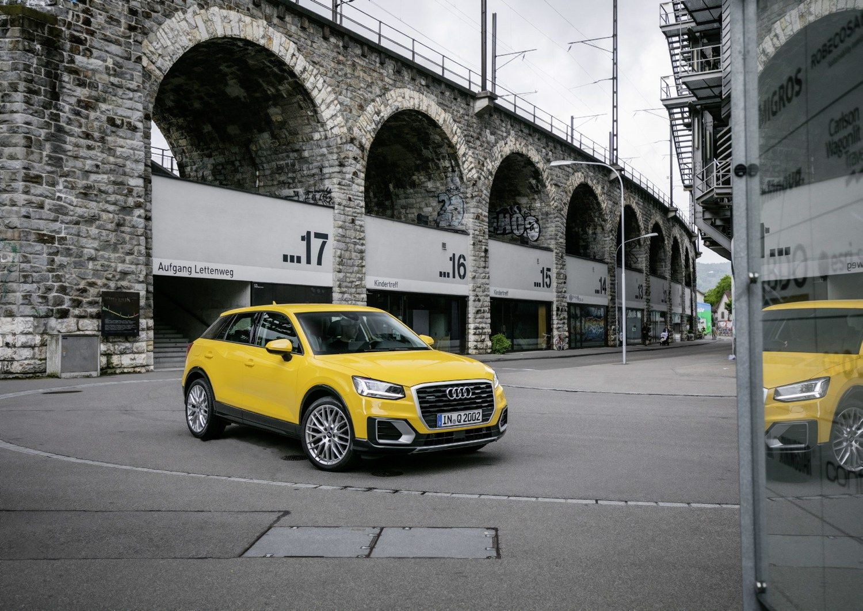 V� bando �Audi Q2�: jaunatvi�ka vokie�i� naujiena