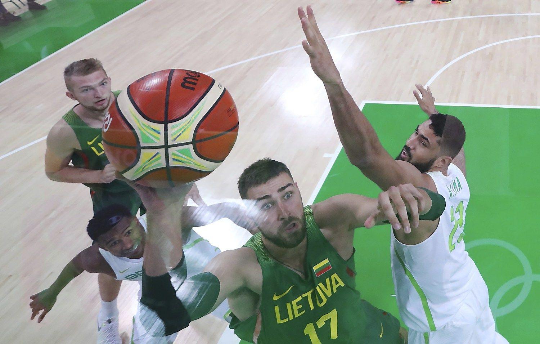 Lietuvos krepšininkai įveikė olimpiados šeimininkus