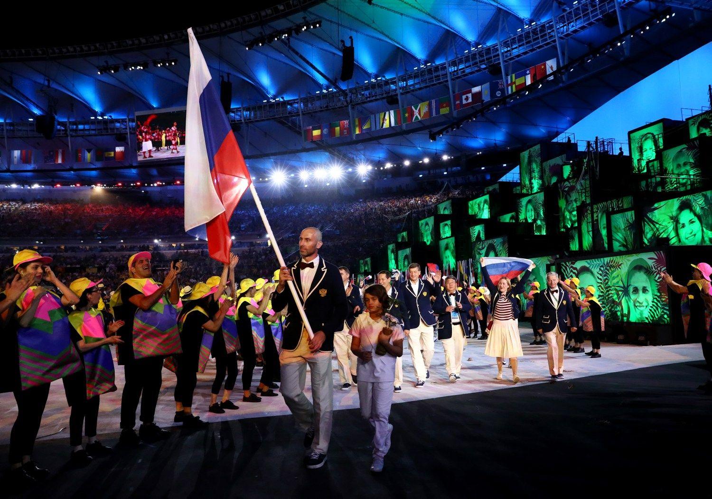 Rusijos atletai pašalinti iš parolimpinių žaidynių