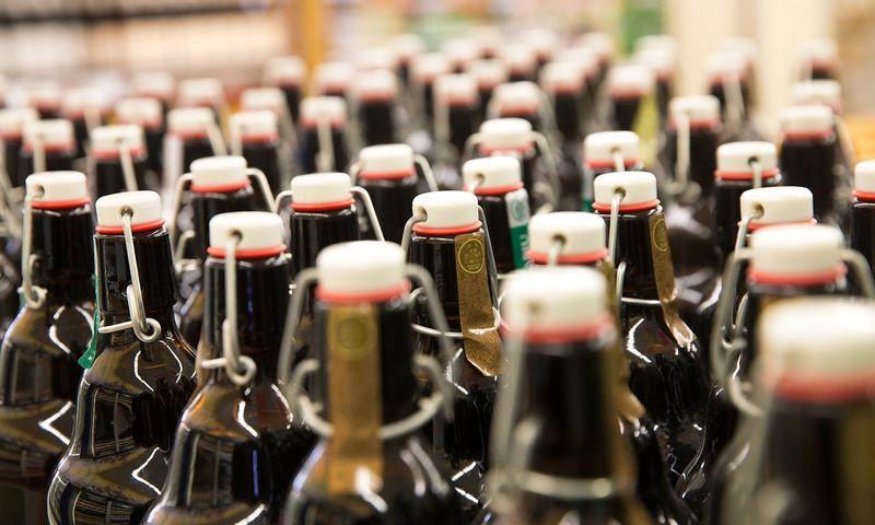 Praėjusiais metais tik 7% alaus parduota viešojo maitinimo įstaigose.  Juditos Grigelytės (VŽ) nuotr.