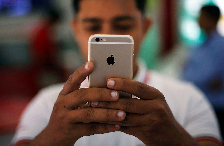 """""""Bloomberg"""": """"iPhone 7"""" turės dvigubą kamerą, stiprumui jautrų mygtuką"""