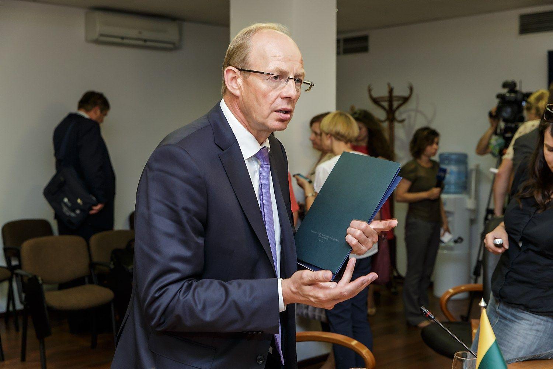 Žemės ūkio ministrė Jonui Miliui siūlo trauktis