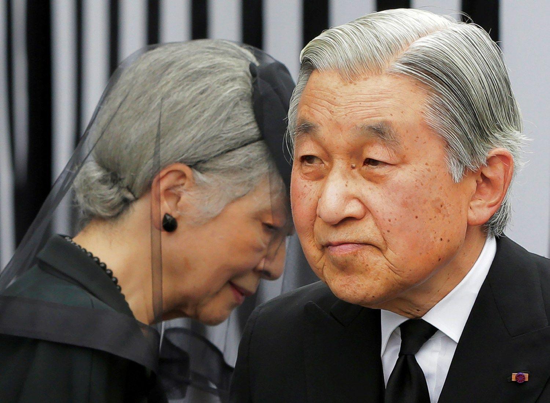Japonijos imperatorius norėtų atsisakyti pareigų