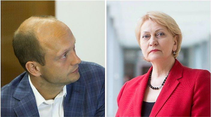 Budbergytė Mačiuliui:Finansų ministerija kol kas nėra nusprendusi skolintis į ateitį