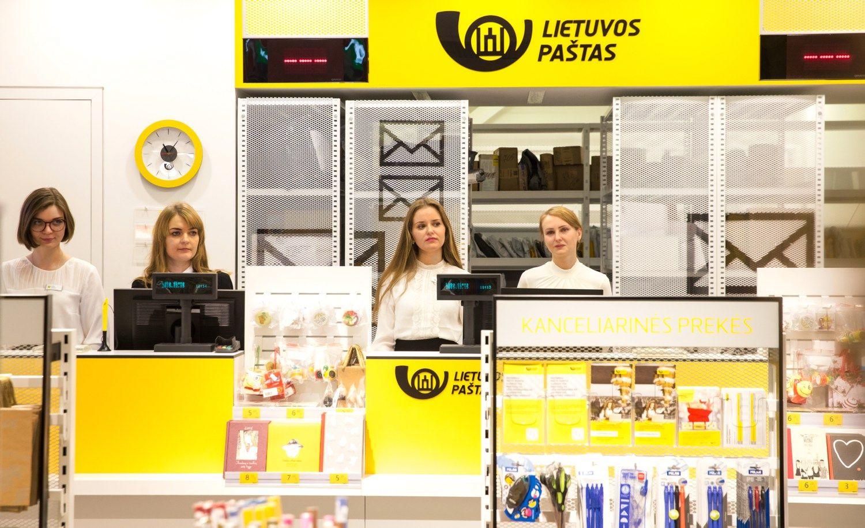 Lietuvos paštas atlyginimų fondą didina 850.000 Eur
