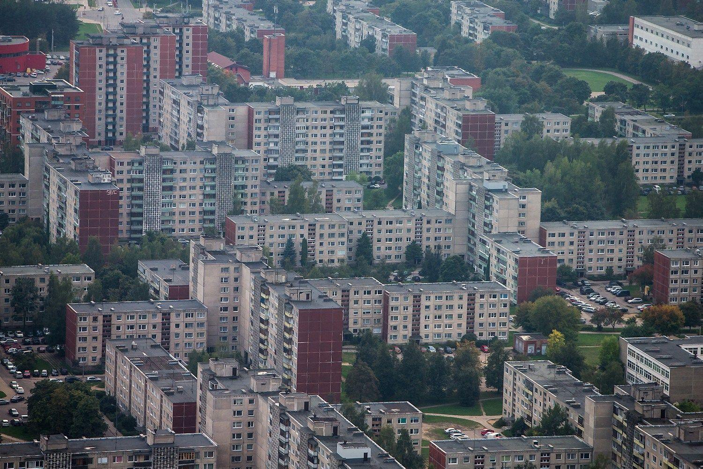 Per metus butai Vilniuje brango 6,1%